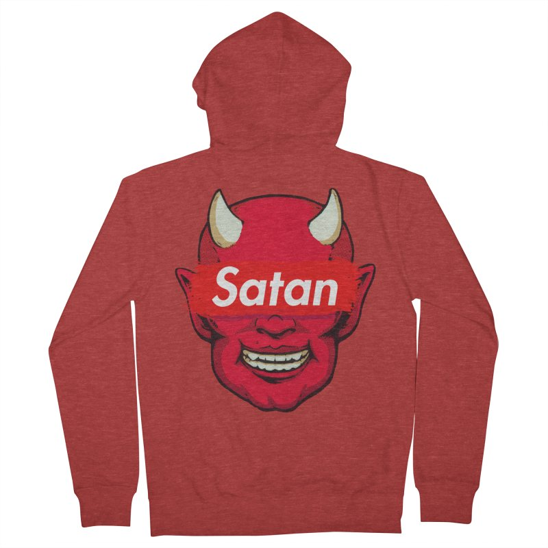 Satan Supreme Women's Zip-Up Hoody by villainmazk's Artist Shop
