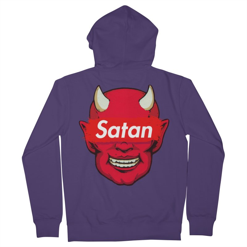 Satan Supreme Women's Zip-Up Hoody by villainmazk's Artist Shop