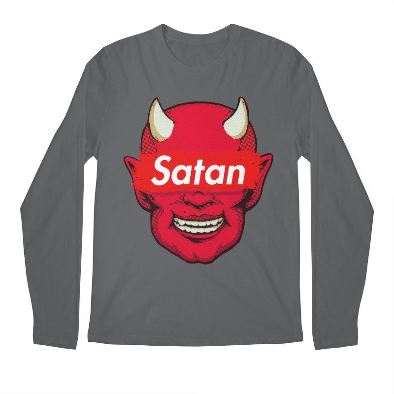 Satan Supreme Men's Longsleeve T-Shirt by villainmazk's Artist Shop