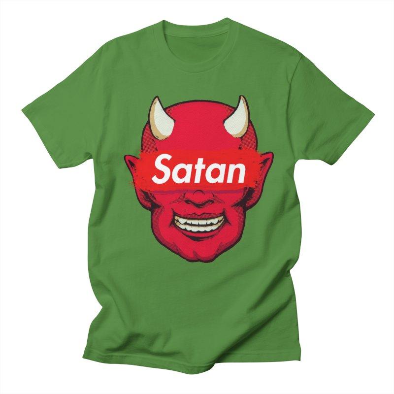 Satan Supreme Women's Regular Unisex T-Shirt by villainmazk's Artist Shop
