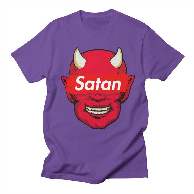 Satan Supreme Men's T-Shirt by villainmazk's Artist Shop