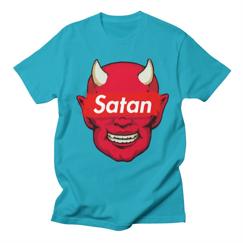 Satan Supreme Men's Regular T-Shirt by villainmazk's Artist Shop