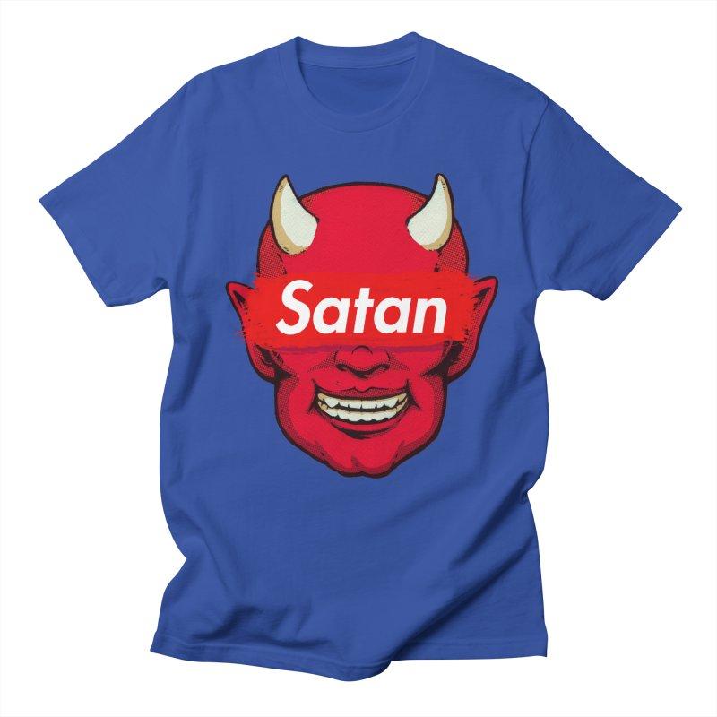 Satan Supreme Men's Regular T-Shirt by villainmazk's Artist Shop