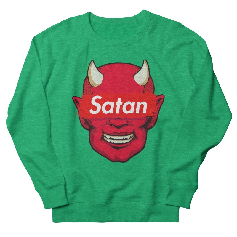 Satan Supreme Women's Sweatshirt by villainmazk's Artist Shop