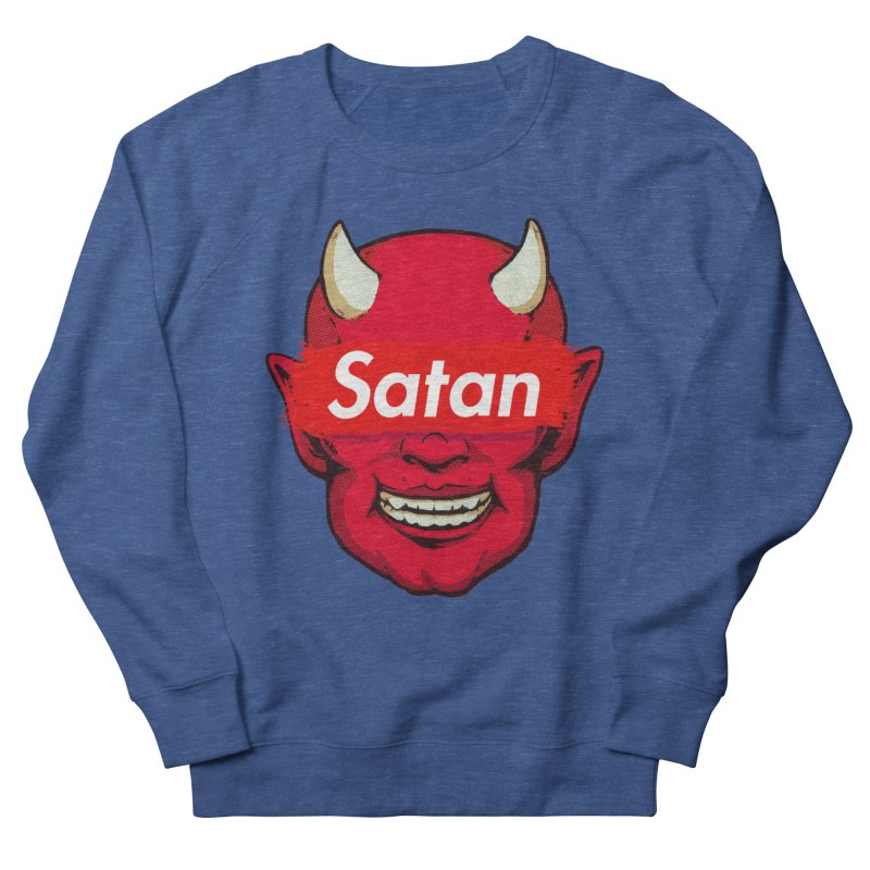 Satan Supreme Women's French Terry Sweatshirt by villainmazk's Artist Shop