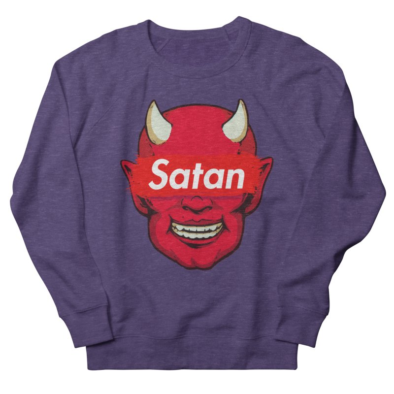 Satan Supreme Men's French Terry Sweatshirt by villainmazk's Artist Shop