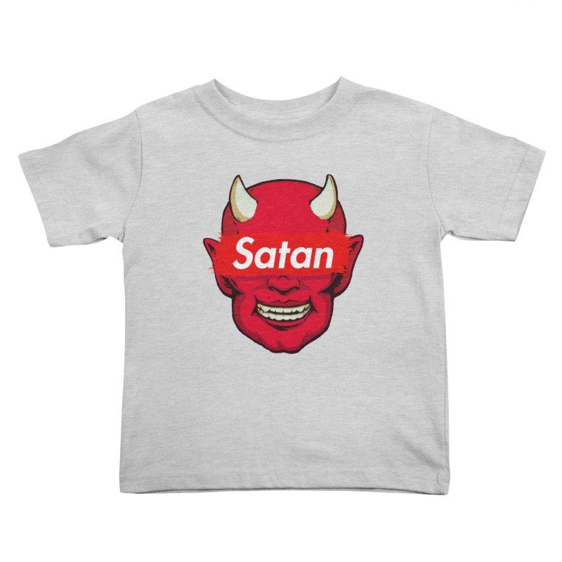 Satan Supreme Kids Toddler T-Shirt by villainmazk's Artist Shop