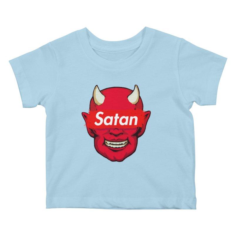 Satan Supreme Kids Baby T-Shirt by villainmazk's Artist Shop