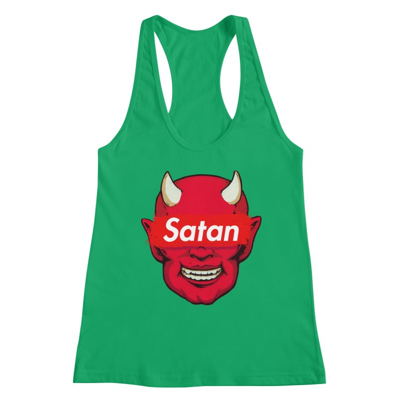 Satan Supreme Women's Tank by villainmazk's Artist Shop