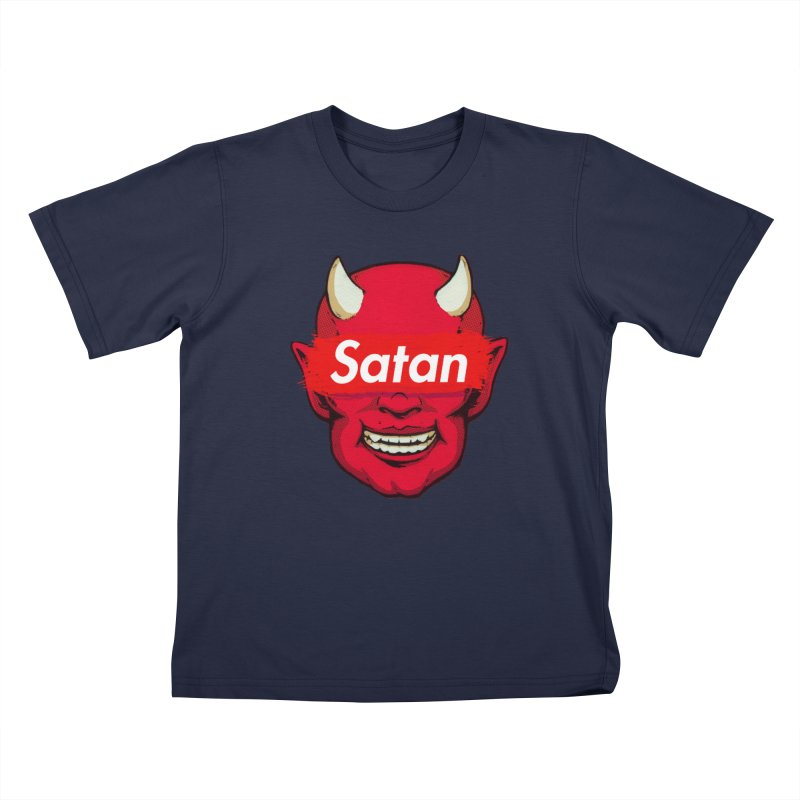 Satan Supreme Kids T-Shirt by villainmazk's Artist Shop