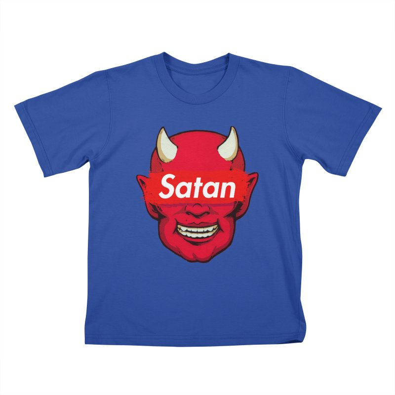 Satan Supreme Kids T-Shirt by villainmazk's Artist Shop