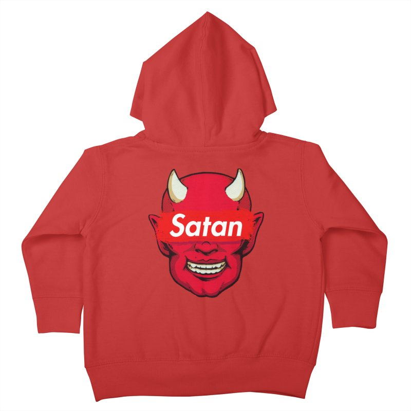 Satan Supreme Kids Toddler Zip-Up Hoody by villainmazk's Artist Shop