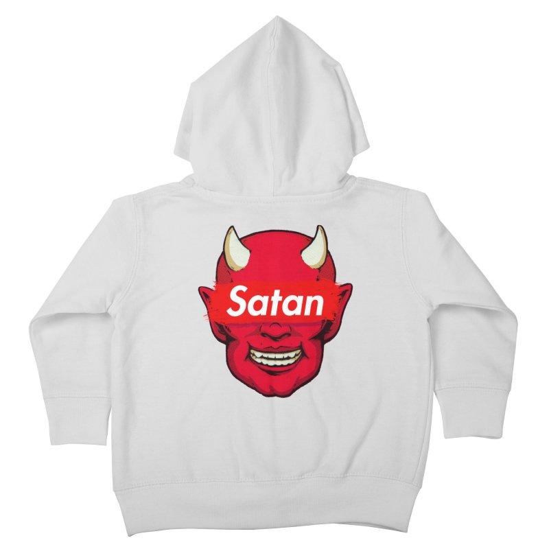 Satan Supreme Kids Toddler Zip-Up Hoody by villainmazk's Artist Shop