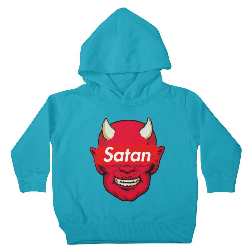 Satan Supreme Kids Toddler Pullover Hoody by villainmazk's Artist Shop