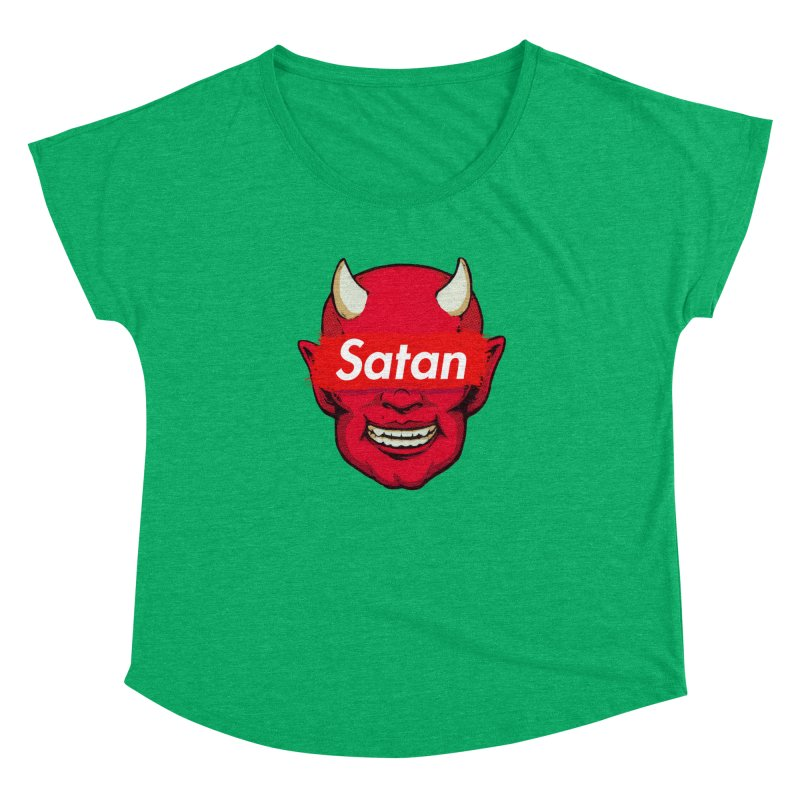 Satan Supreme Women's Dolman Scoop Neck by villainmazk's Artist Shop