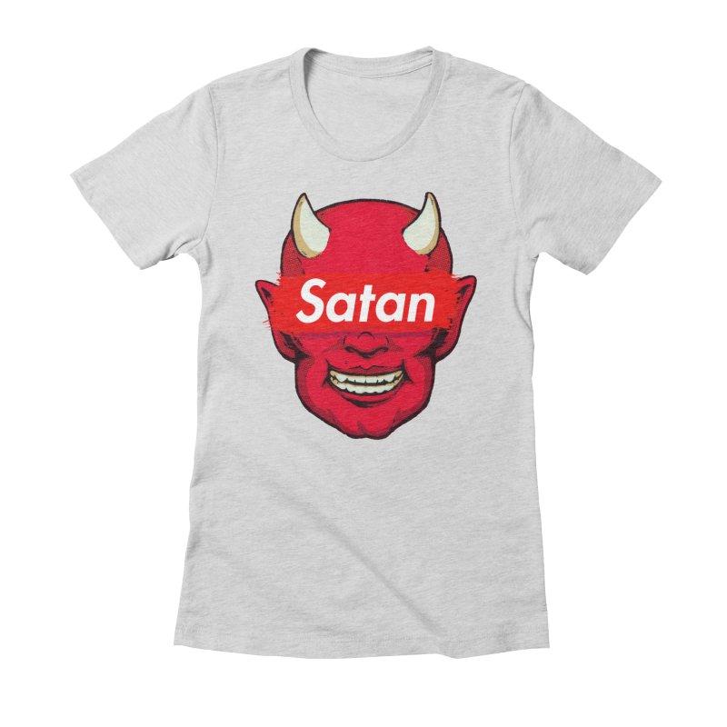 Satan Supreme Women's T-Shirt by villainmazk's Artist Shop