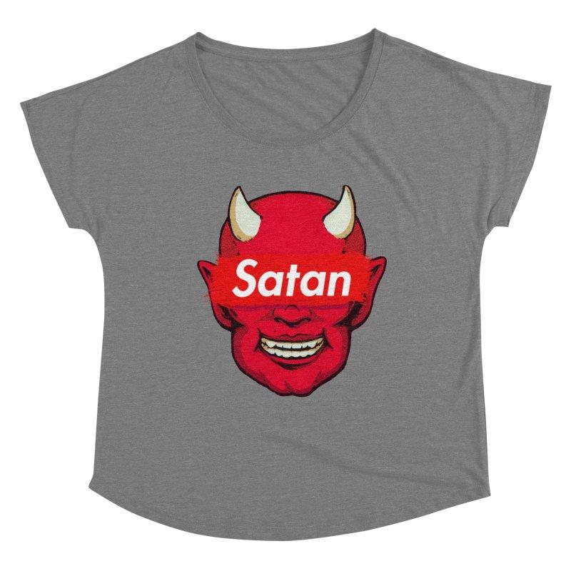 Satan Supreme Women's Scoop Neck by villainmazk's Artist Shop