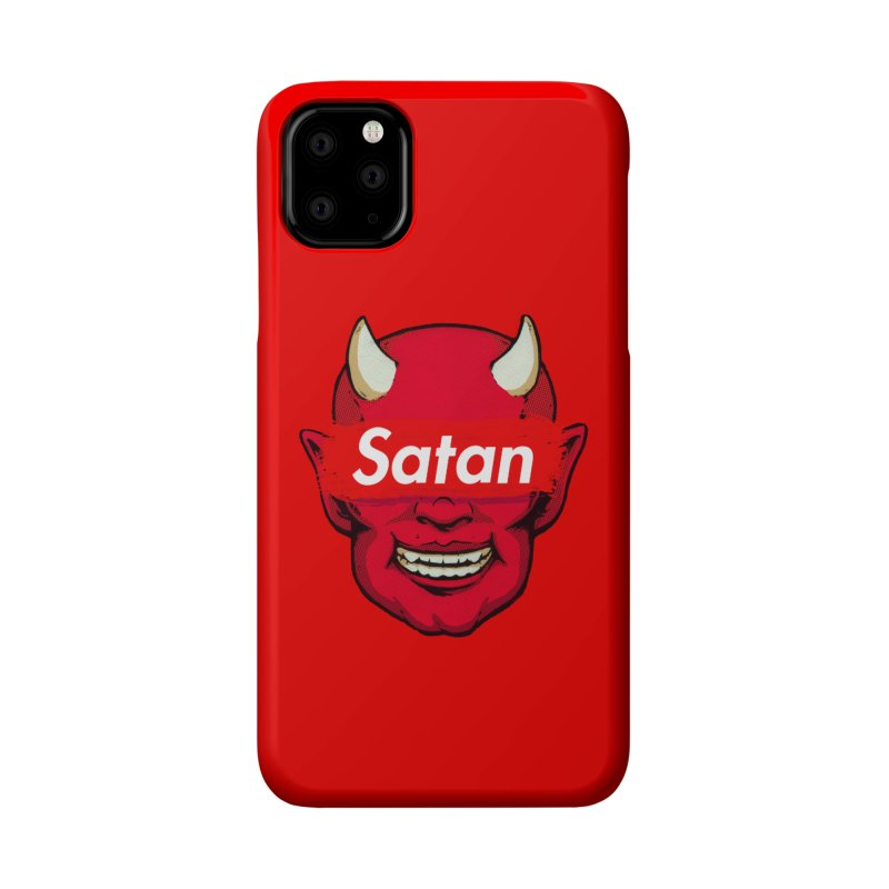 Satan Supreme Accessories Phone Case by villainmazk's Artist Shop