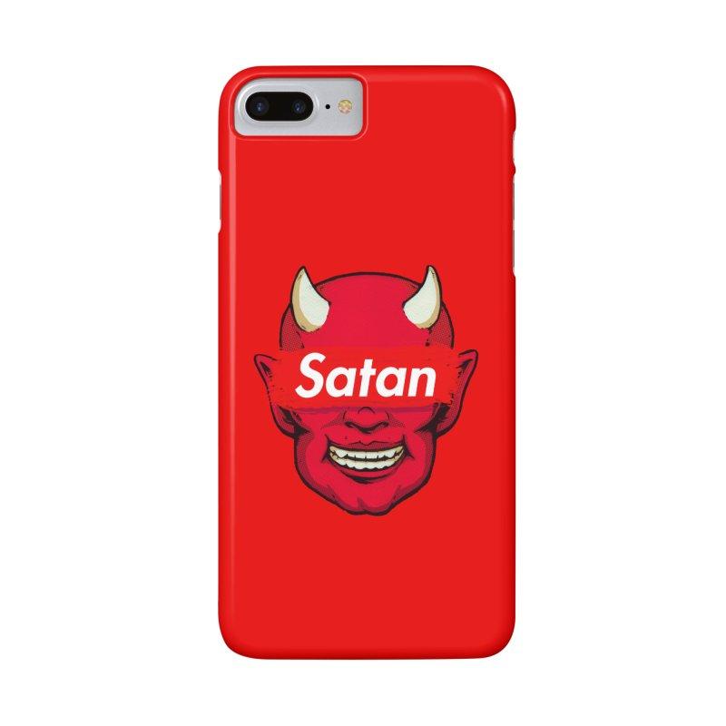 Satan Supreme Accessories Phone Case by villainmazk's Artist Shop