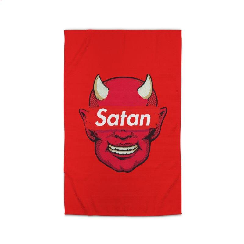Satan Supreme Home Rug by villainmazk's Artist Shop