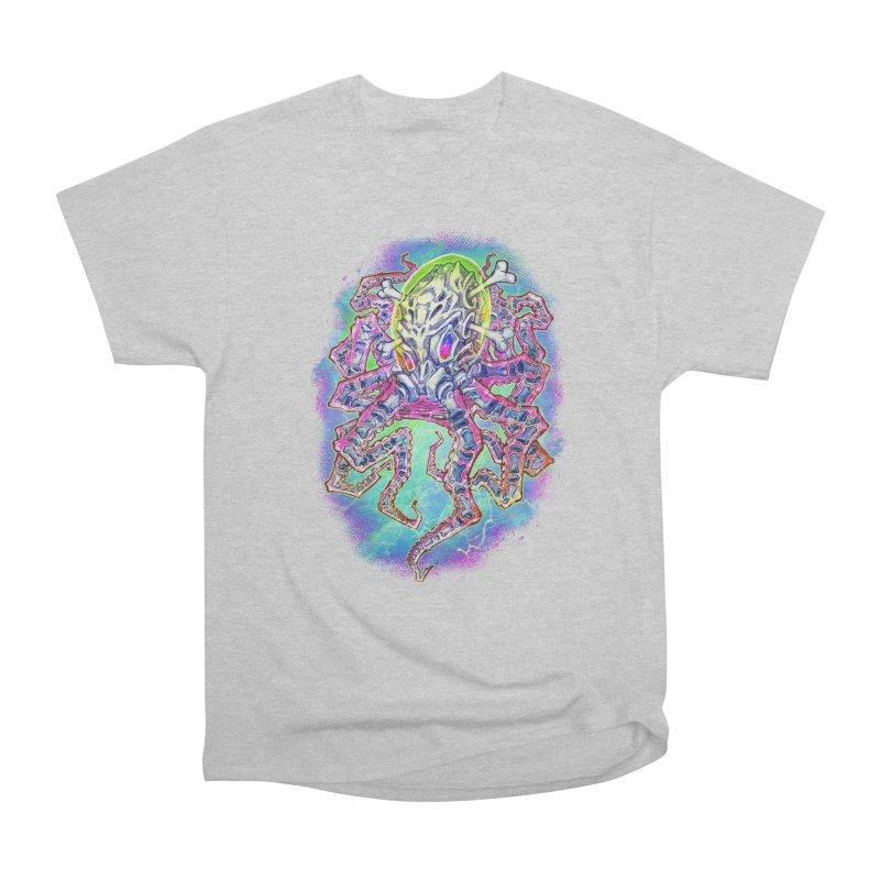 Skeleton Octopus Alien Men's Heavyweight T-Shirt by villainmazk's Artist Shop