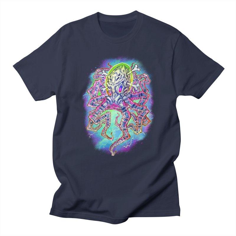 Skeleton Octopus Alien Women's Regular Unisex T-Shirt by villainmazk's Artist Shop