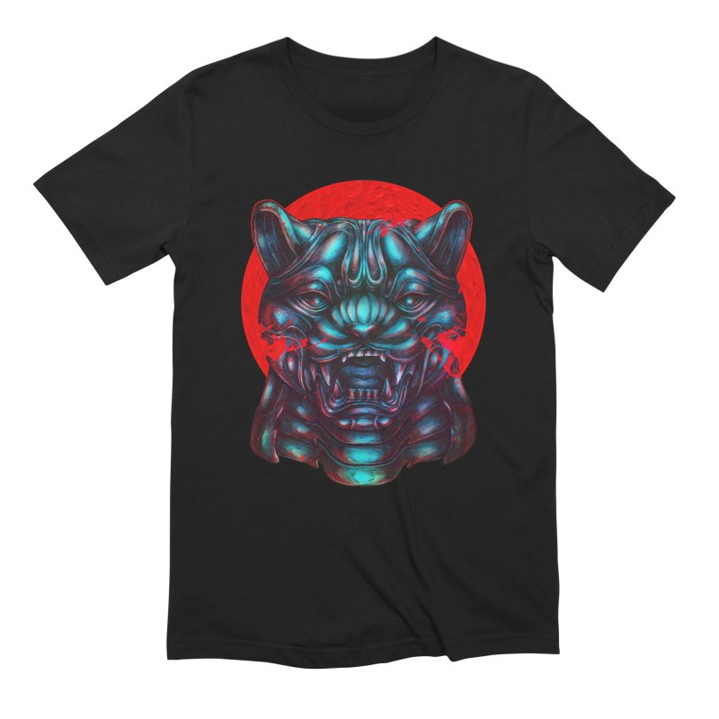 Blood Moon Panther in Men's Extra Soft T-Shirt Black by villainmazk's Artist Shop