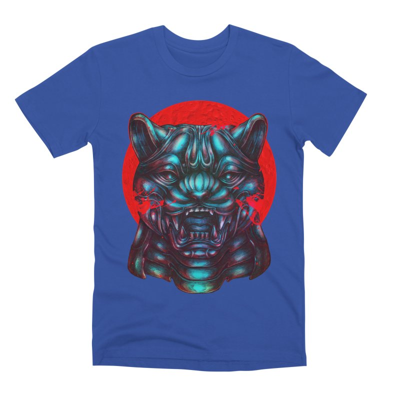 Blood Moon Panther Men's Premium T-Shirt by villainmazk's Artist Shop