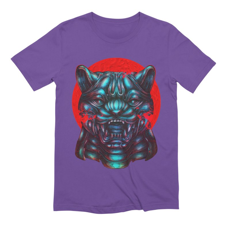 Blood Moon Panther Men's T-Shirt by villainmazk's Artist Shop