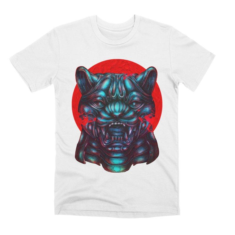 Blood Moon Panther Men's T-Shirt by villainmazk's Artist Shop