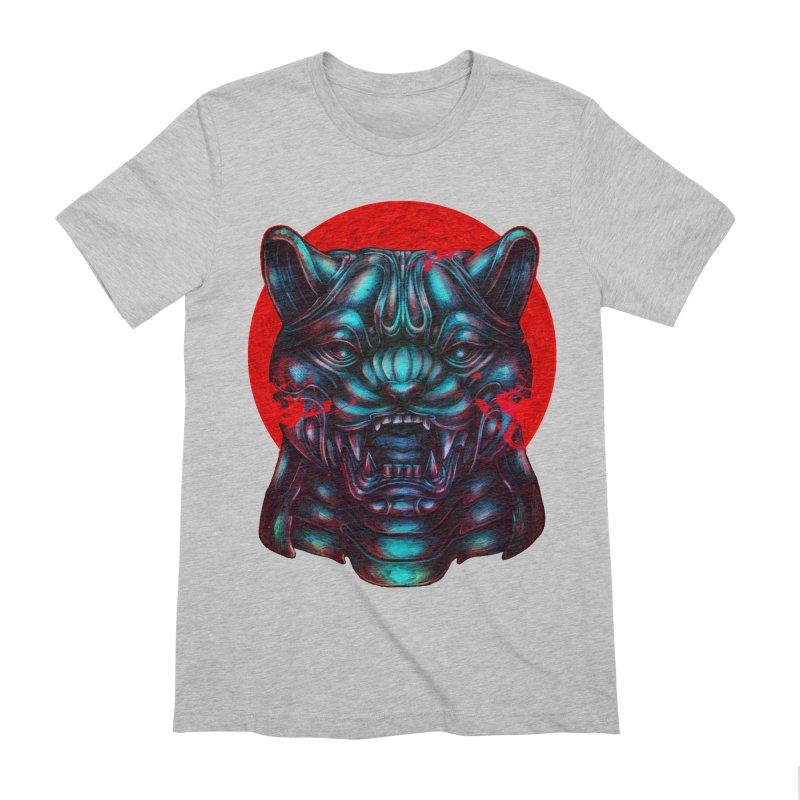 Blood Moon Panther Men's Extra Soft T-Shirt by villainmazk's Artist Shop
