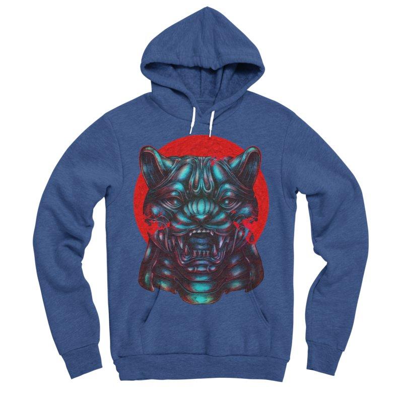 Blood Moon Panther Men's Sponge Fleece Pullover Hoody by villainmazk's Artist Shop