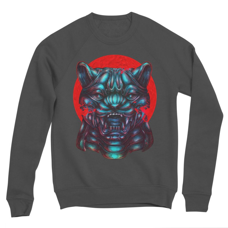 Blood Moon Panther Women's Sponge Fleece Sweatshirt by villainmazk's Artist Shop