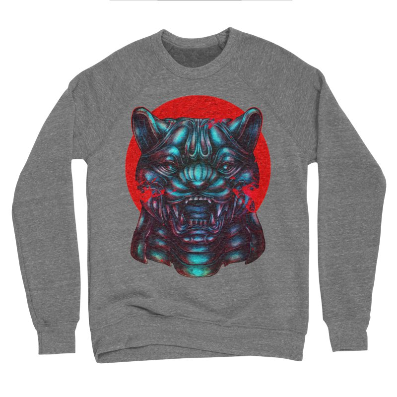 Blood Moon Panther Men's Sponge Fleece Sweatshirt by villainmazk's Artist Shop