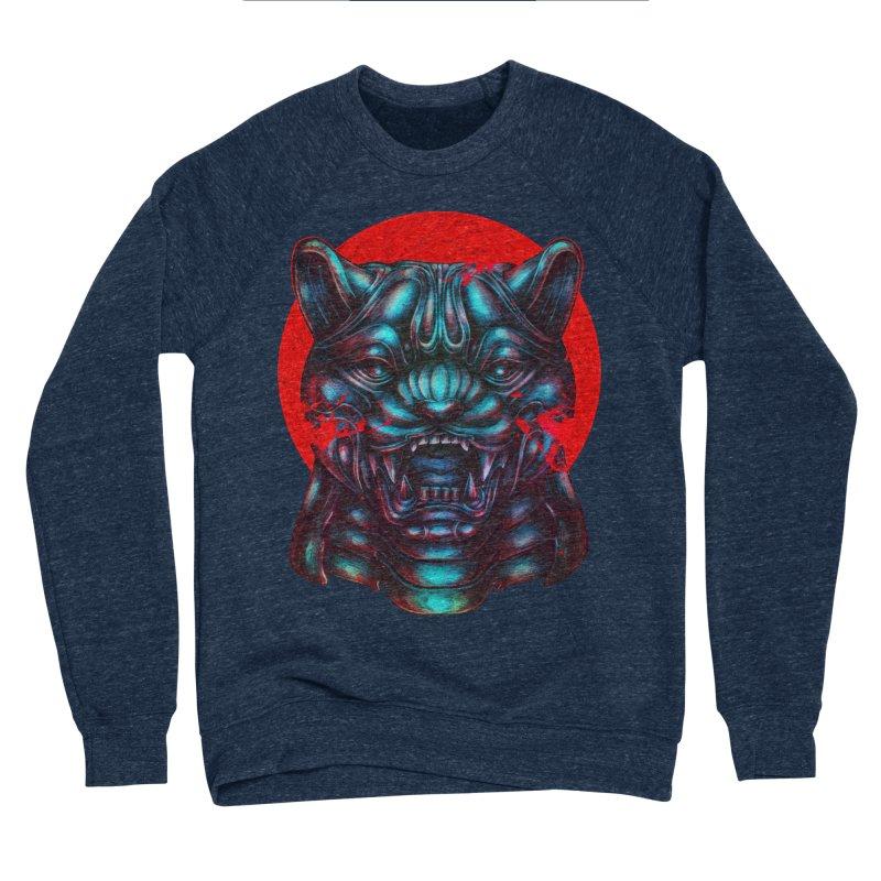 Blood Moon Panther Men's Sponge Fleece Sweatshirt by villainmazk's Artist Shop