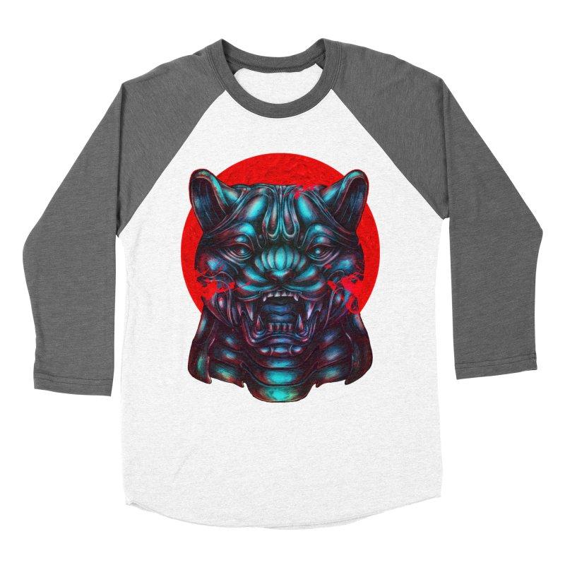 Blood Moon Panther Women's Longsleeve T-Shirt by villainmazk's Artist Shop