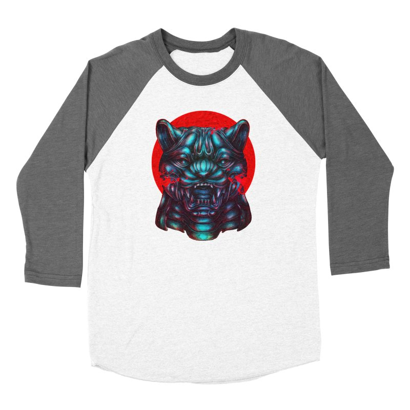 Blood Moon Panther Women's Longsleeve T-Shirt by villainmazk's Artist Shop