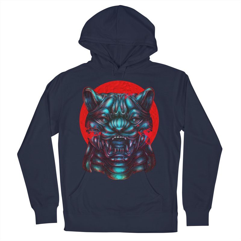 Blood Moon Panther Men's Pullover Hoody by villainmazk's Artist Shop
