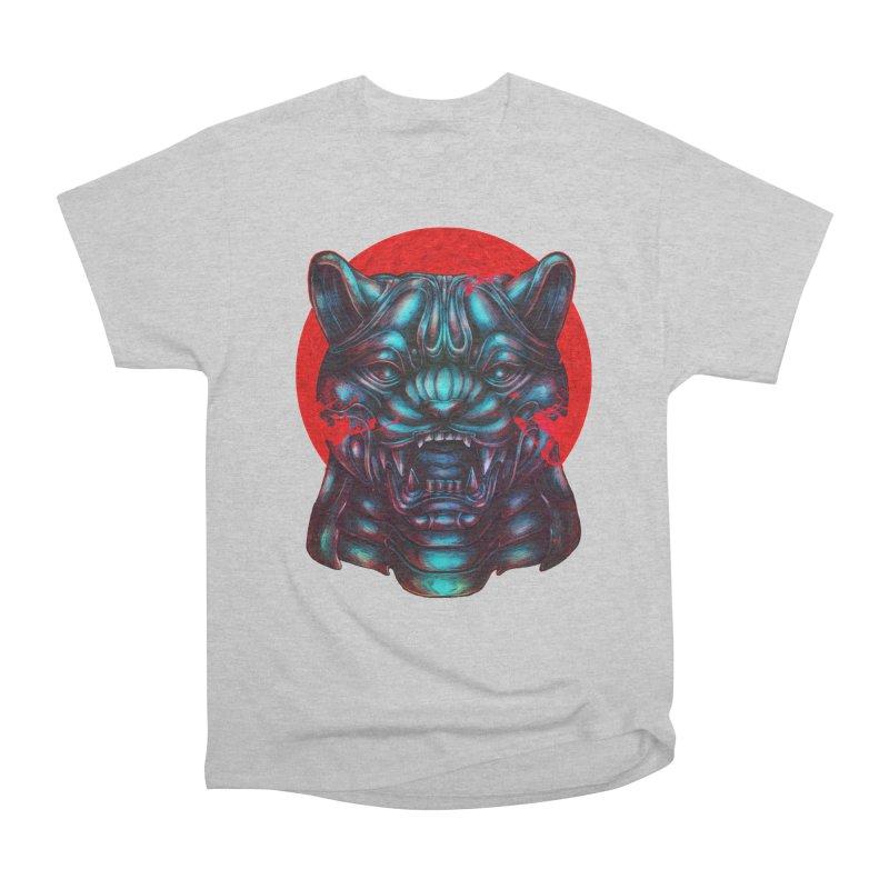 Blood Moon Panther Women's Heavyweight Unisex T-Shirt by villainmazk's Artist Shop