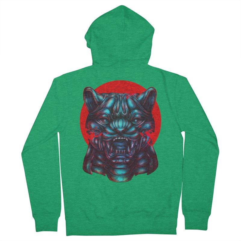 Blood Moon Panther Women's Zip-Up Hoody by villainmazk's Artist Shop