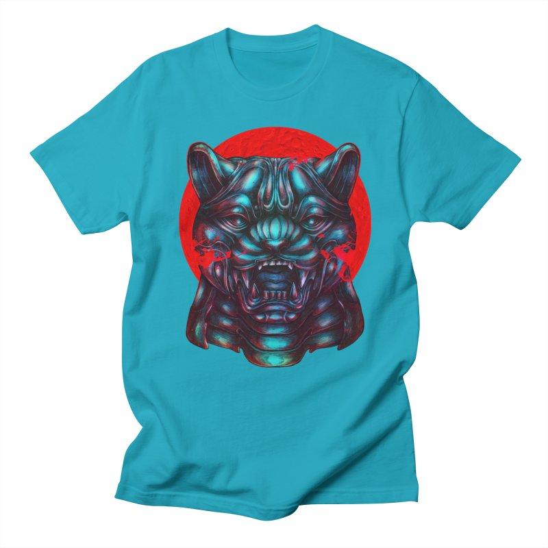 Blood Moon Panther Men's Regular T-Shirt by villainmazk's Artist Shop