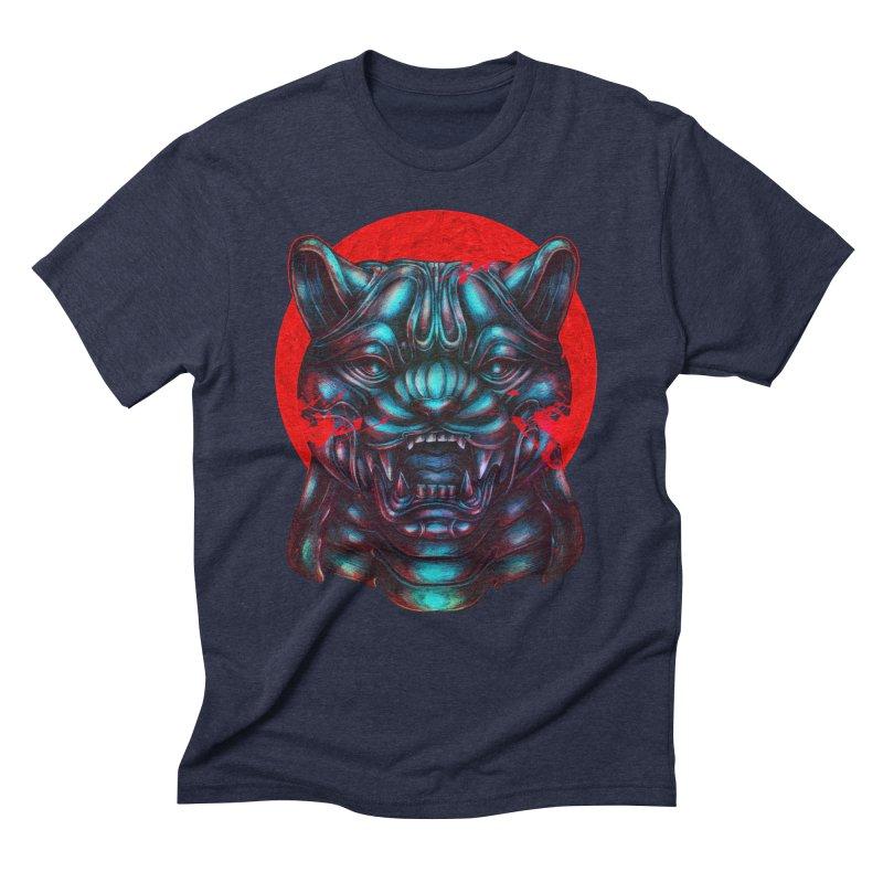 Blood Moon Panther Men's Triblend T-Shirt by villainmazk's Artist Shop