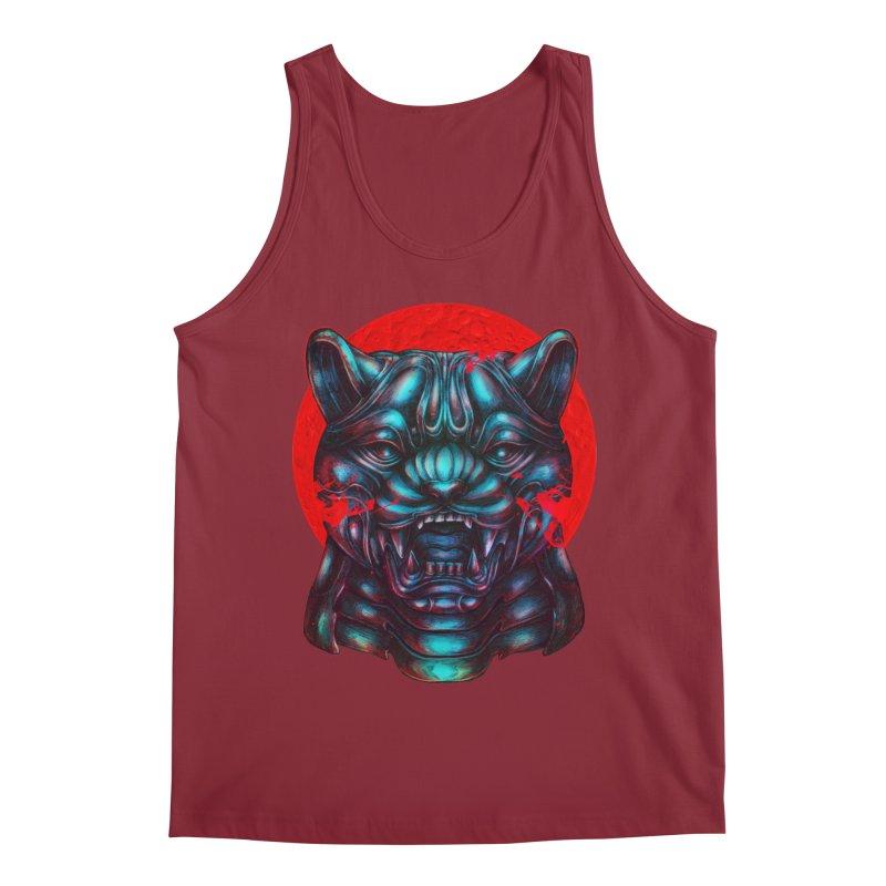 Blood Moon Panther Men's Tank by villainmazk's Artist Shop