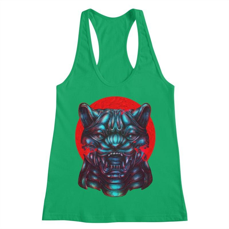 Blood Moon Panther Women's Tank by villainmazk's Artist Shop