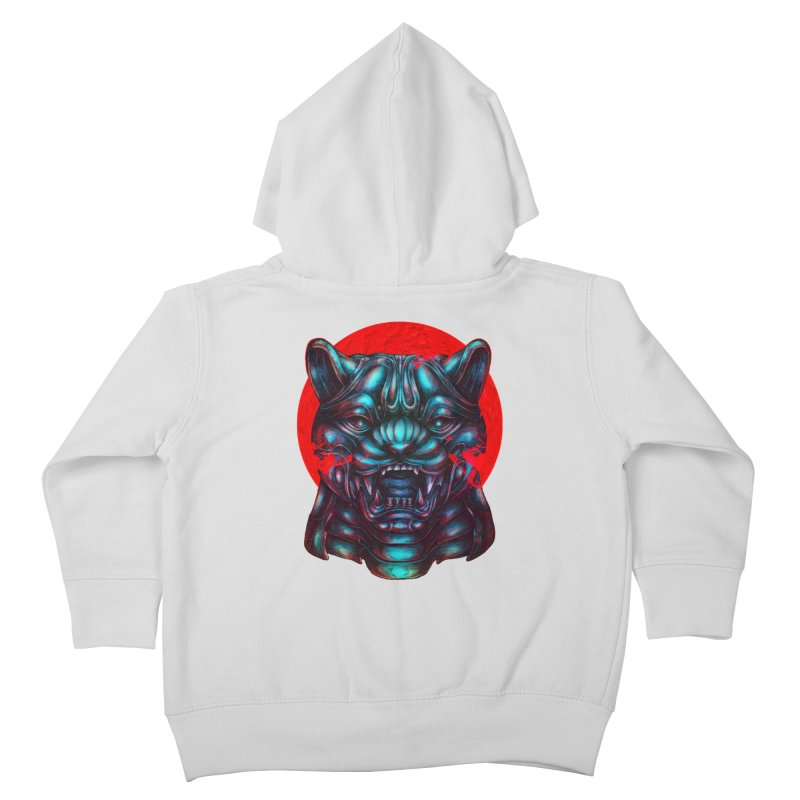 Blood Moon Panther Kids Toddler Zip-Up Hoody by villainmazk's Artist Shop