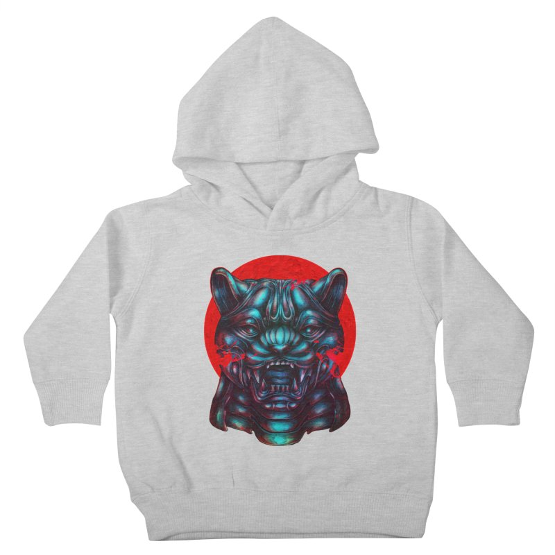 Blood Moon Panther Kids Toddler Pullover Hoody by villainmazk's Artist Shop
