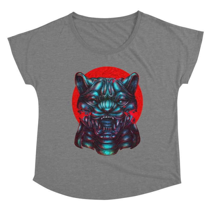 Blood Moon Panther Women's Scoop Neck by villainmazk's Artist Shop