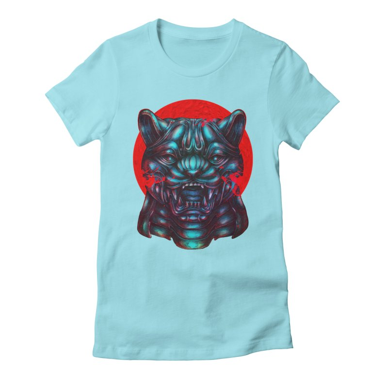 Blood Moon Panther Women's T-Shirt by villainmazk's Artist Shop