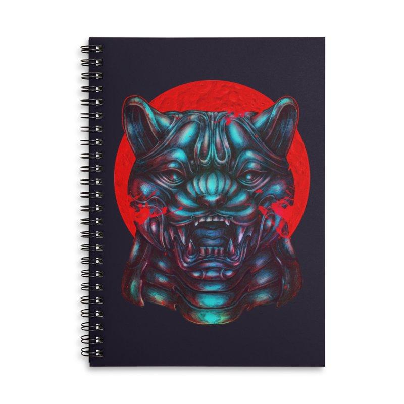 Blood Moon Panther Accessories Notebook by villainmazk's Artist Shop