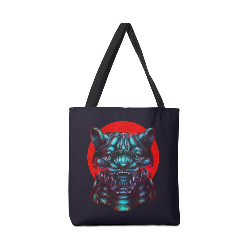 Blood Moon Panther Accessories Tote Bag Bag by villainmazk's Artist Shop